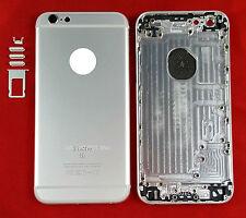 BACK COVER SCOCCA POSTERIORE COPRI BATTERIA APPLE IPHONE 6S SILVER