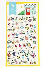 1 sheet sport bicycle bike scrapbook paper planner filofax diary sticker