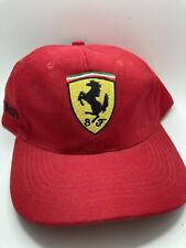Ferrari Formula One 1 Racing Official Strapback Hat OSFA new never worn
