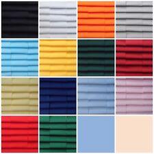 """fabric patchwork squares 24 x 4""""  10 cm cotton quilting craft plain colour K4"""