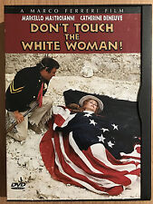 Don't touch the White Woman DVD French Western Rare Region 1 in Snapper Case