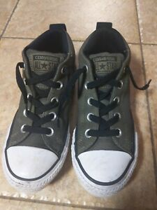 Converse All Star Olive Green Kids Size 13