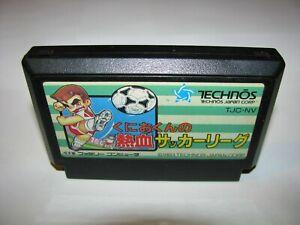 Kunio-kun no Nekketsu Soccer League Famicom NES Japan import US Seller