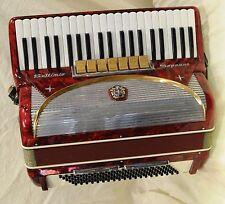 Settimio Soprani 120 Bass 7 Coupler Piano Accordion with Case - Made in Italy