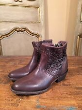New Free People Faryl Robin Nitro Ankle Campus Womens Boots Size 8 Brown