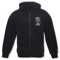 Nike Authentic Black Men's AW77 USATF Hoodie Running Jacket 485201-010 XL 2XL