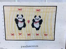 LITTLE MEMORIES SMOCKING PLATE # 001 PANDAMONIUM