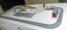 33 Assorted Thomas The Tank Train Pieces Grey Tracks, Crossing,Platforms Cranky