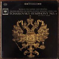 EUGENE ORMANDY TCHAIKOVSKY SYMPHONY NO. 7 VINYL LP COLUMBIA MS 6349 VG