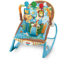 Fisher Price infant toddler music vibration fold-out stand removable pad rocker