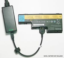 External Laptop Battery Charger for Lenovo ThinkPad W700 W701, 45J7914, 42T4556