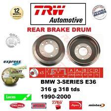FOR BMW 3-SERIES E36 316 316i g 318 318i tds 1990-2000 1x REAR BRAKE DRUM