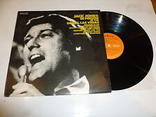 JACK JONES - Jack Jones In Person At The Sands, Las Vegas - 1970 UK 15-track LP