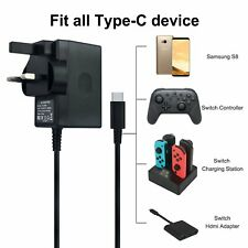 Nintendo Switch Fast Charging Charger Power Supply Adapter AC Type C cable