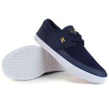 DC Wes Kremer 2 S Skate Shoes, Navy/Gold - Men's Vulc Pro Skateboard Trainers 9