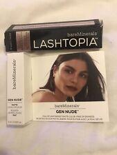Bare Minerals Lashtopia Mega Volume Mineral Mascara & Gen Nude Matte Lip Colour