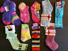 HS2538 ^ Girls Cotton Fashion Knee-Highs Laced up Socks Sizes S-XL  6 Pairs Lot
