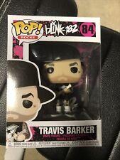 Travis Barker Blink-182 Funko Pop Rock #84 Good Condition