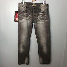 PRPS Gray Rambler Slim Skinny Jeans sz 38x35 Distressed Denim Mens NWT