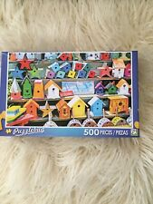 Puzzlebug Multi Color Local Crafts  500 Piece Puzzle New