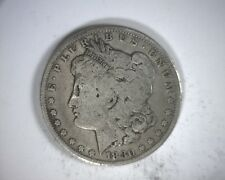 Error Coin 1880-p Vam 1A1 Die Break Wreath Bow/Wire Strike Morgan Silver Dollar