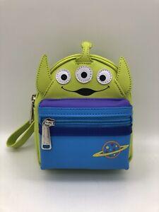 Loungefly Disney Parks Toy Story Little Green Men Aliens Wristlet Mini Belt Bag
