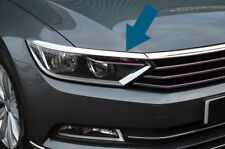 Chrome Headlight Grille Accent Trim Covers To Fit Volkswagen Passat B8 (2016+)