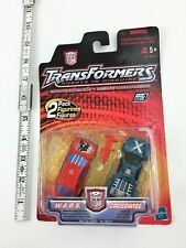 "Hasbro Transformers Robots In Disguise RID WARS and Crosswise MOC 3"" 2-pack"