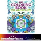 HUGE ADULT COLORING THE COLOURING BOOK GROWN UPS 352 PAGES ANTI STRESS BOOKS