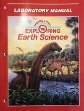 Prentice-Hall: Exploring Earth Science: Lab Manual, Paperback