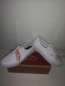 Brand New Mens Vans Era Classic Tumble True White Uk Size 8.5