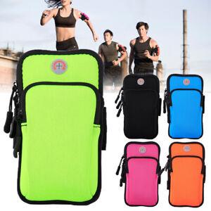 Unisex Training Case Zipper Arm Bag Cell Phone Holder Bag Gym Bodybuilding