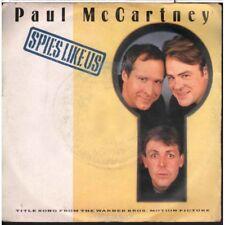 "Paul McCartney / Wings 45giri 7"" Spies Like Us / My Carnival Nuovo 5099920094072"