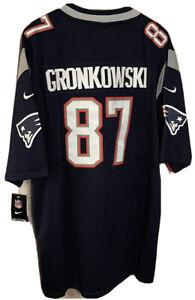 NWT Nike Rob Gronkowski XXL New England Patriots NFL Football Jersey
