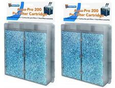 2 x Superfish Aqua-Pro 200 Pre Filter Cartridge Media Tropical Discus Fish Tank