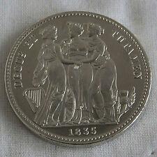 WILLIAM IIII 1835 PROOF PATTERN THREE GRACES CROWN