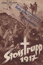 IFK: 921: Stosstrupp 1917 ( Der unbekannte Soldat ) Albert Penzkofer / PREMIERE