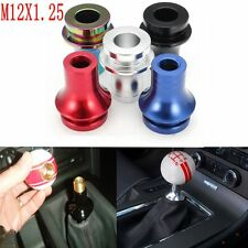 M12X1.25 Low Profile Shift Knob Boot Retainer Adapter Manual Gear Shifter Lever