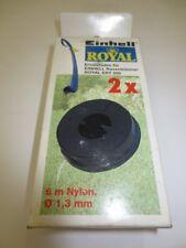 10 x Einhell Ersatzfadenspule für Royal ERT 200 Spule Rasentrimmer Ersatzfaden