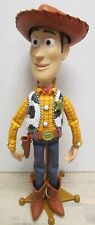 Thinkway Toys Toy Story Talking Pull String Woody with Stand + Hat Disney Pixar