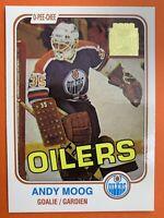 2002 Topps O-Pee-Chee Archives Reprint #24 Andy Moog Edmonton Oilers