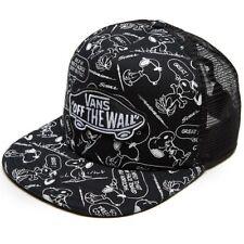 VANS OFF THE WALL Snapback Cap PEANUTS Snoopy Skate Adult Trucker Hat OSFM NWT