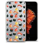 Coque Crystal Pour iPhone 6/6s Plus (5.5) Extra Fine Rigide Foodie Sushi