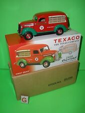FIRST GEAR 29-2385 TEXACO 1939 CHEVY CANOPY EXPRESS Truck SEALED BOX 1:34 G