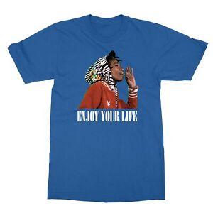 Wiz Khalifa Enjoy Your Life Unisex Tee Tshirt