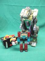 Lot of 3 Vintage Takara Hasbro Voltron Etc. Perceptor G1 Tripticon Figures