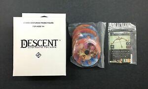 Descent Legends of the Dark Promo Hybrid Centurion+Cards+Health Dials+Free Ship!