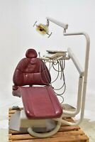 Adec 1040 Burgundy Dental Exam Chair Operatory Set-Up Package - Low Price