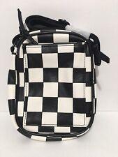 UO Messenger Festival Bag Black/White Side Bag NEW! Adjustable Strap