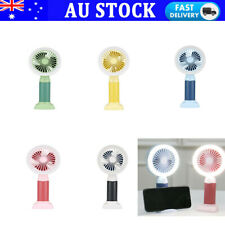 Desktop Mini Portable Mute Cooling Fan Electric USB Rechargeable Fan with LED